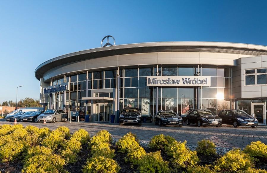 Salon samochodowy Mercedes Opole
